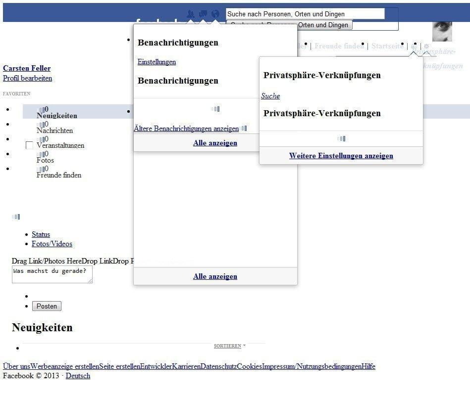 Facebook mal ganz anders